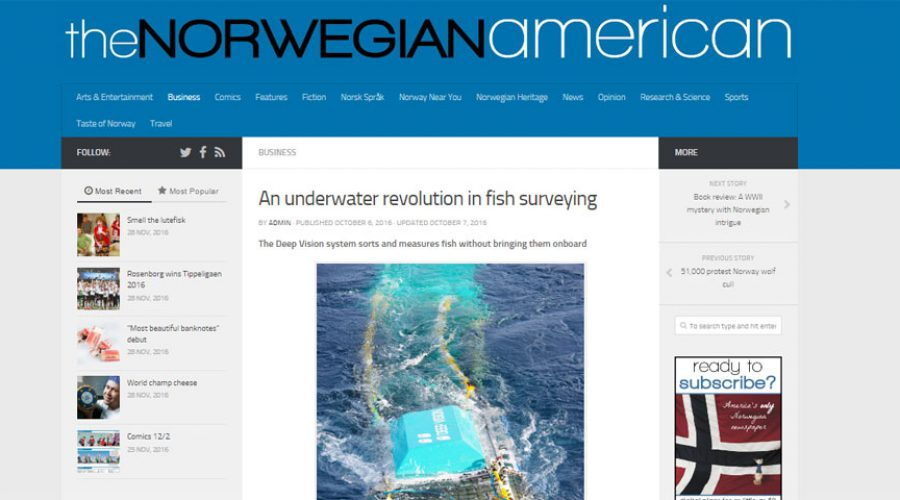 An underwater revolution in fish surveying
