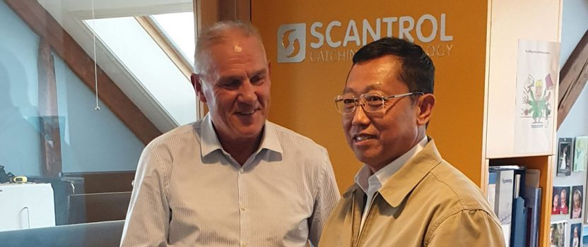 Chinese Director of Fisheries visits Scantrol